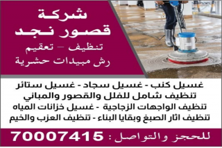 palace najd cleaning