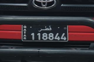 Black Number plate FOR SALE