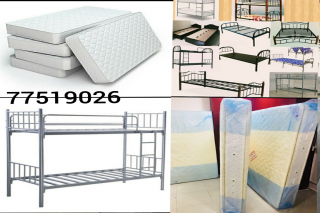 Mattress & bed framers & cupboard FOR SALE