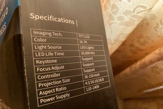 High resolution projector FOR SALE