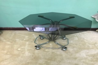 Glass Round Coffee Table FOR SALE