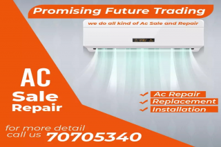 AC maintenance AND BUY AND SALE  SERVICES