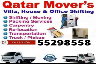Qatar movers /MOVING SHIFTING SERVICES