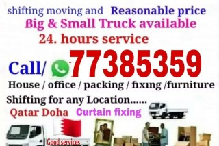 Moving shifting with fixing services call me-77385359.