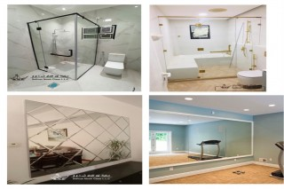 Shower glass and mirror  SALE AND FIXING WORK