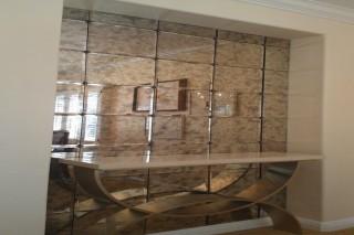 Decorative mirror sale & fix