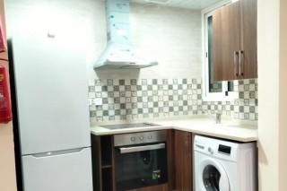 1 BHK F/F including all bills with pool, & GYM  FOR RENT IN DOHA