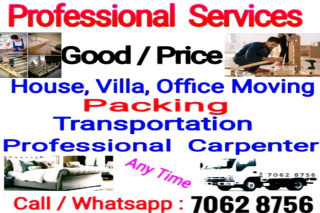 PACKING AND MOVING SERVICES ALL OVER DOHA