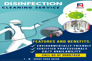 Disinfection and cleaning service IN DOHA