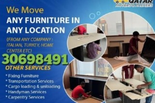 Low price shifting and moving ALL OVER QATAR