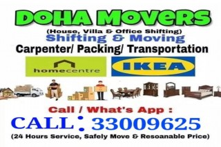 BEST Shifting and Moving SERVICES IN  QATAR